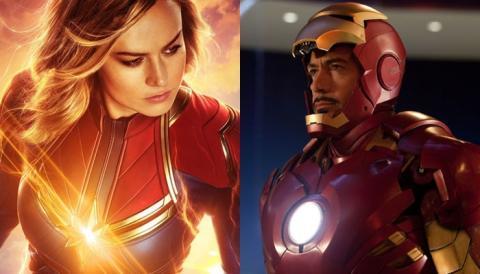 Capitana Marvel y su conexión con Iron Man 2: el Proyecto Pegaso