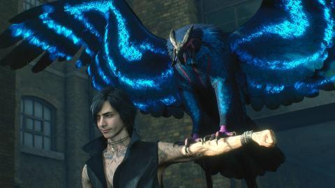 Devil May Cry 5 V gameplay
