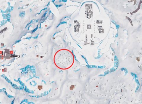Mapa isla del tesoro Fortnite localizacion