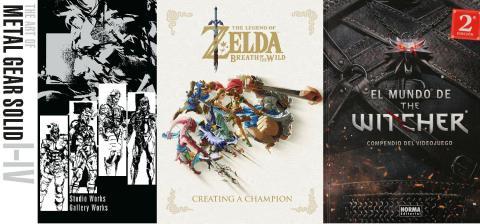 Libros videojuegos arte lore