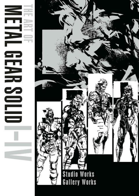 Metal Gear Solid libro arte