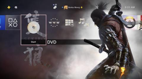 Sekiro tema gratis PS4