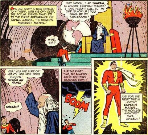 Shazam y Capitán Marvel