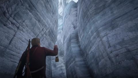 Glaciar secreto Red Dead Redemption 2