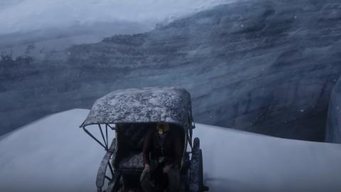 Glaciar secreto Red Dead Redemption 2