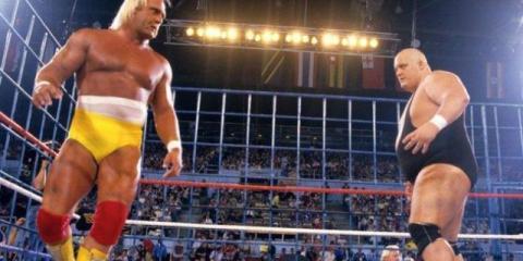 King kong Bundy frente a Hulk Hogan