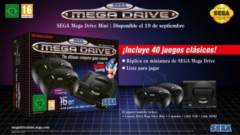 Mega Drive Mini España