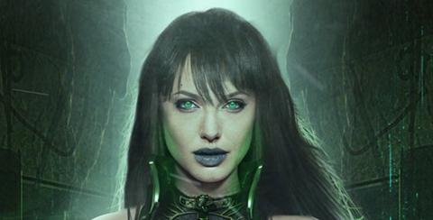 Así sería Angelina Jolie como Sersi en la película de Los Eternos