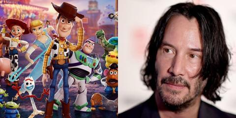 Toy Story 4 - Revelado el papel que tendrá Keanu Reeves en la nueva película de Pixar