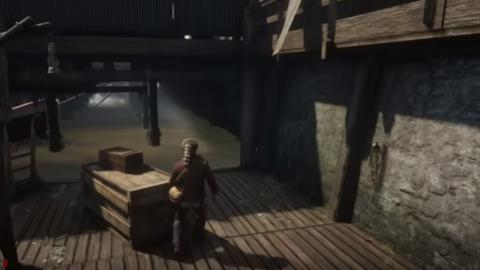 Túnel secreto Saint Dennis Red Dead Redemption 2