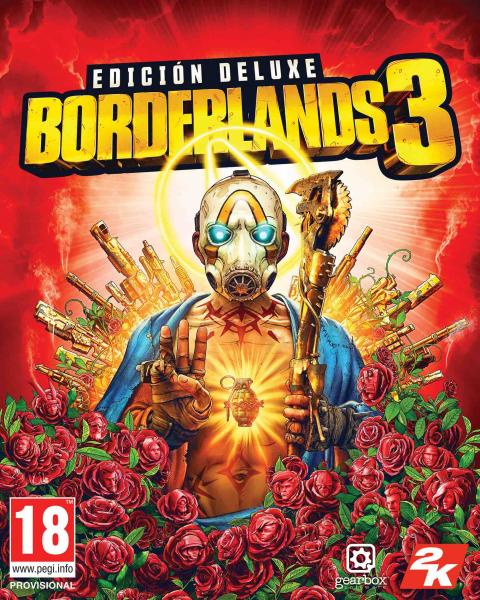 Borderlands 3 caratula