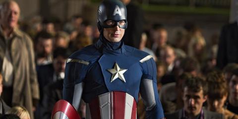 Capitán América - Primer traje de Vengadores