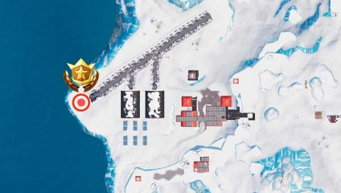 Desafío Mapa del tesoro Oasis Ostentoso Fortnite