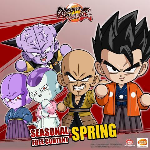 Dragon Ball FighterZ actualización