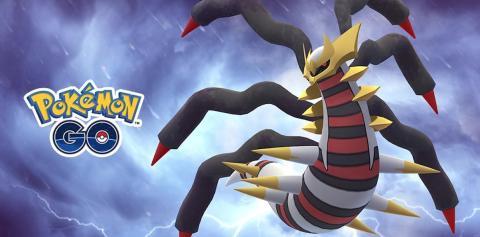 Giratina Forma Origen en Pokémon GO