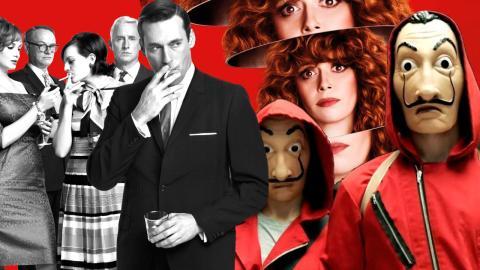 Las mejores series de Netflix - Mad Men La casa de papel, Russian Doll