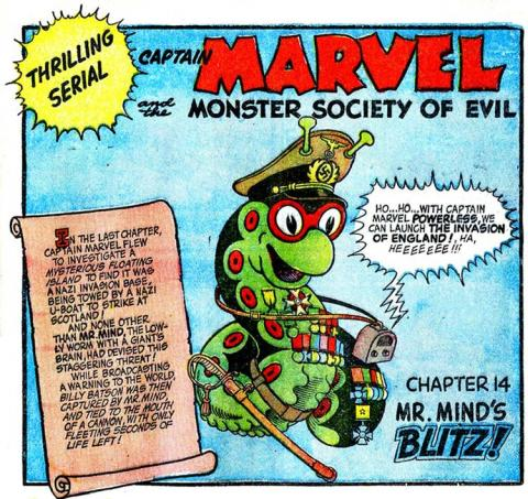 Míster Mente (Mr. Mind), villano de Shazam!