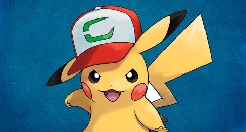 Pokemon GO Pikachu gorra Ash