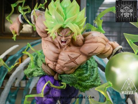 Resina de nuevo Broly - Dragon Ball Super