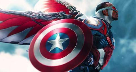 Sam Wilson: Capitán América Falcon (El Halcón)