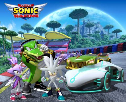 Team Sonic Racing - corredores