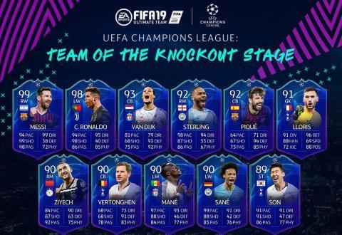 TOTKS FIFA 19 ultimate TEAM