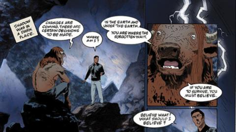 American Gods: Sombras - Comic