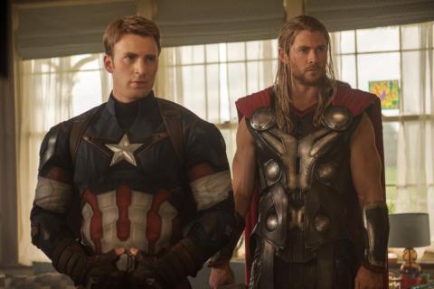 Capitán américa thor