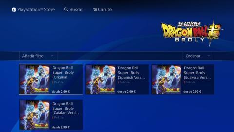 Dragon Ball Super Broly PS4