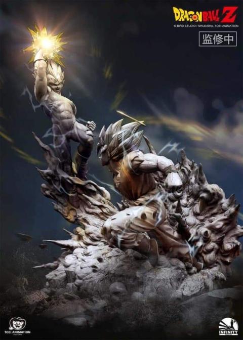 Dragon Ball Z Majin Vegeta figura