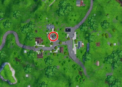 donde esta el Fortbyte #72 mapa