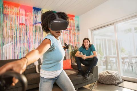Oculus Quest lifestyle