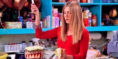 Rachel y la ternera con guisantes