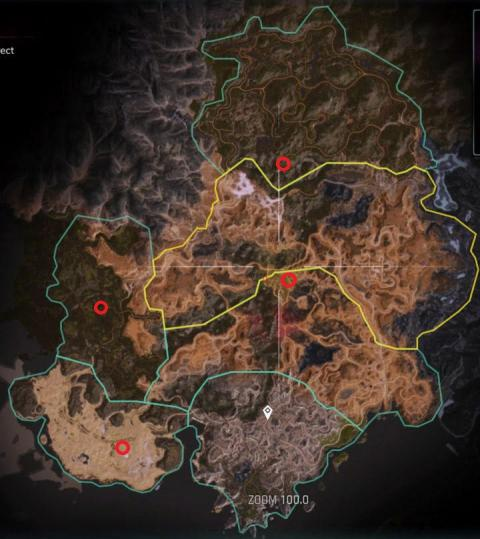 RAGE 2 mapa ecocápsulas