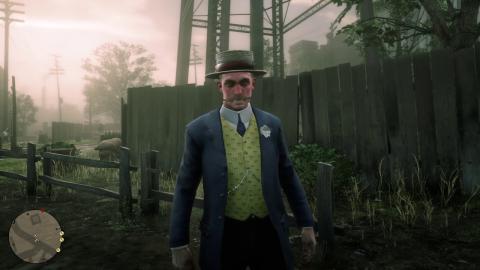 Red Dead Redemption 2 amigo de Gavin