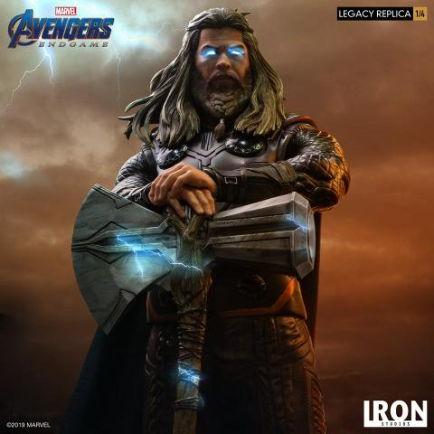 Réplica Thor Iron Studios