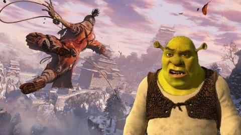 Sekiro mod Shrek