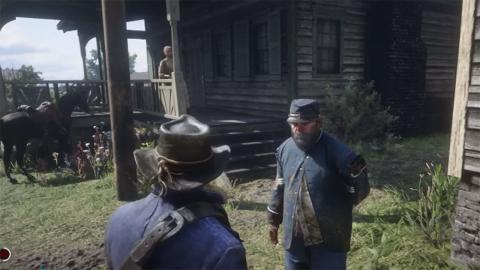 Veteranos guerra Red Dead Redemption 2