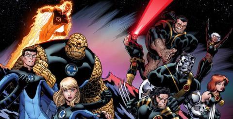 4 Fantásticos vs X-Men