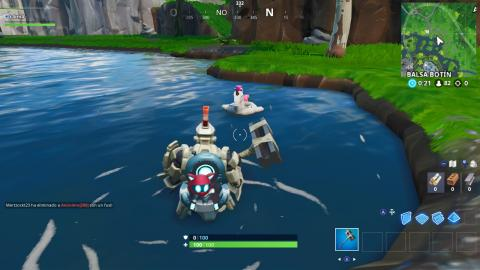 Busca flotadores de unicornio en pozas para nadar en Fortnite - localizaciones (14 dias de Fortnite)