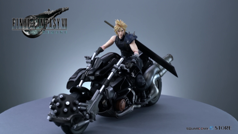 Cloud moto figura