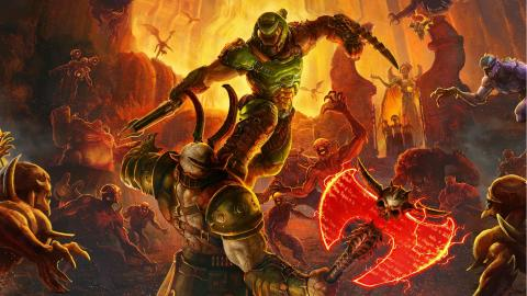 DOOM Eternal PS4 Xbox One Nintendo Switch PC
