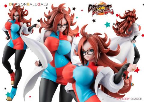 Dragon Ball Gals Androide 21