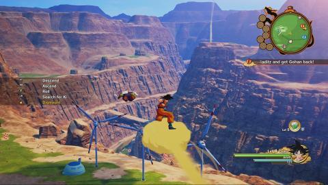 Dragon Ball Z: Kakarot nuevas imágenes