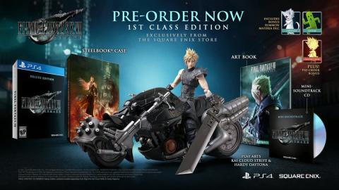 Edición coleccionista Final Fantasy VII Remake