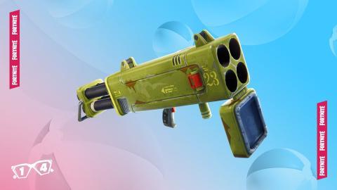 Eliminaciones con el arma diaria sacada de la cámara o el subfusil de tambor en Fortnite