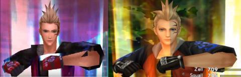 Final Fantasy VIII comparación