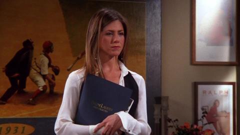 Friends - La carrera laboral de Rachel