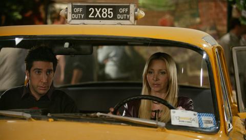 Friends - El taxi de Phoebe