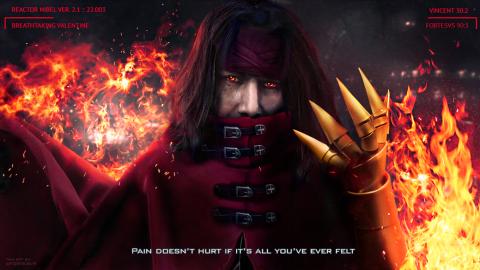 Keanu Reeves is Vincent Valentine Final Fantasy 7